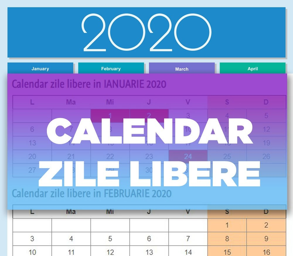 Pick Calendar Zile Lucratoare 2020   Calendar Printables Free Blank in Zile Libere Anul 2021 Photo