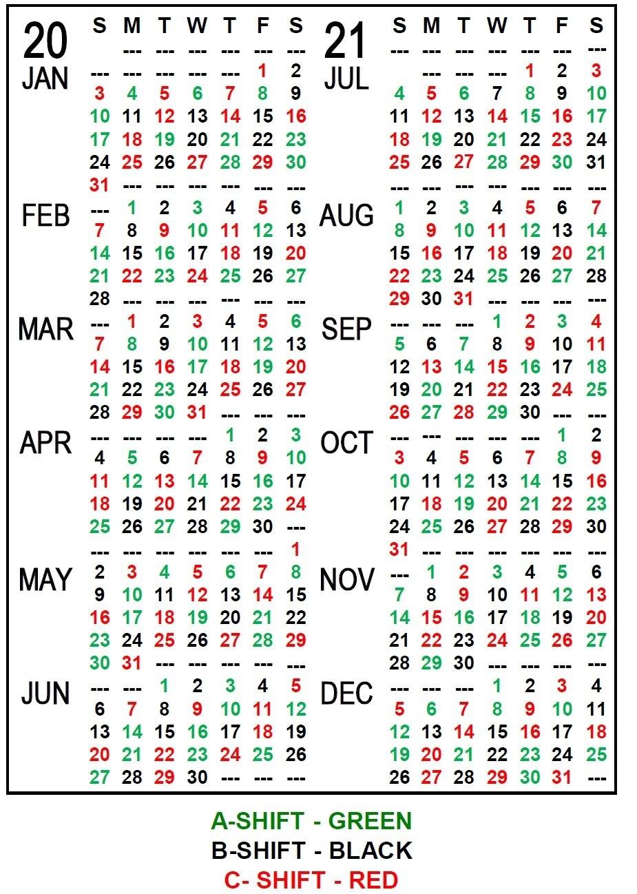 Pick Printable 2020 Shift Calendar   Calendar Printables Free Blank throughout Template Piano Feire 2021 Graphics