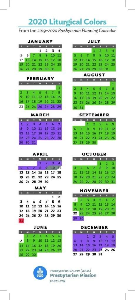 Presbyterian Liturgical Calendar 2021 | Printable March inside Church Calendar 2021 Psd