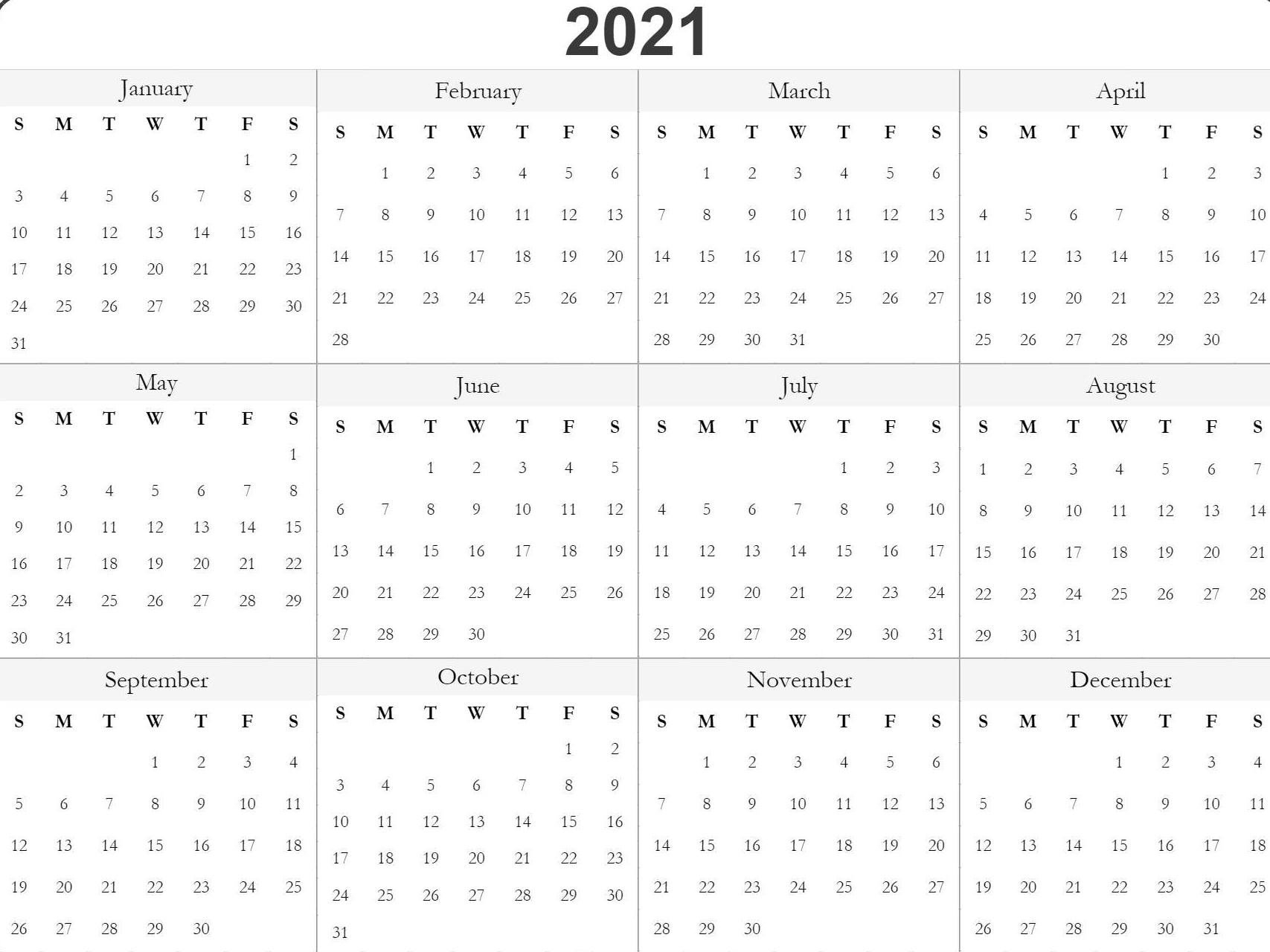 Print Philippine 2021 Calendars With Holiday   Calendar Template Printable pertaining to Philippine Calendar 2021 With Holidays Image