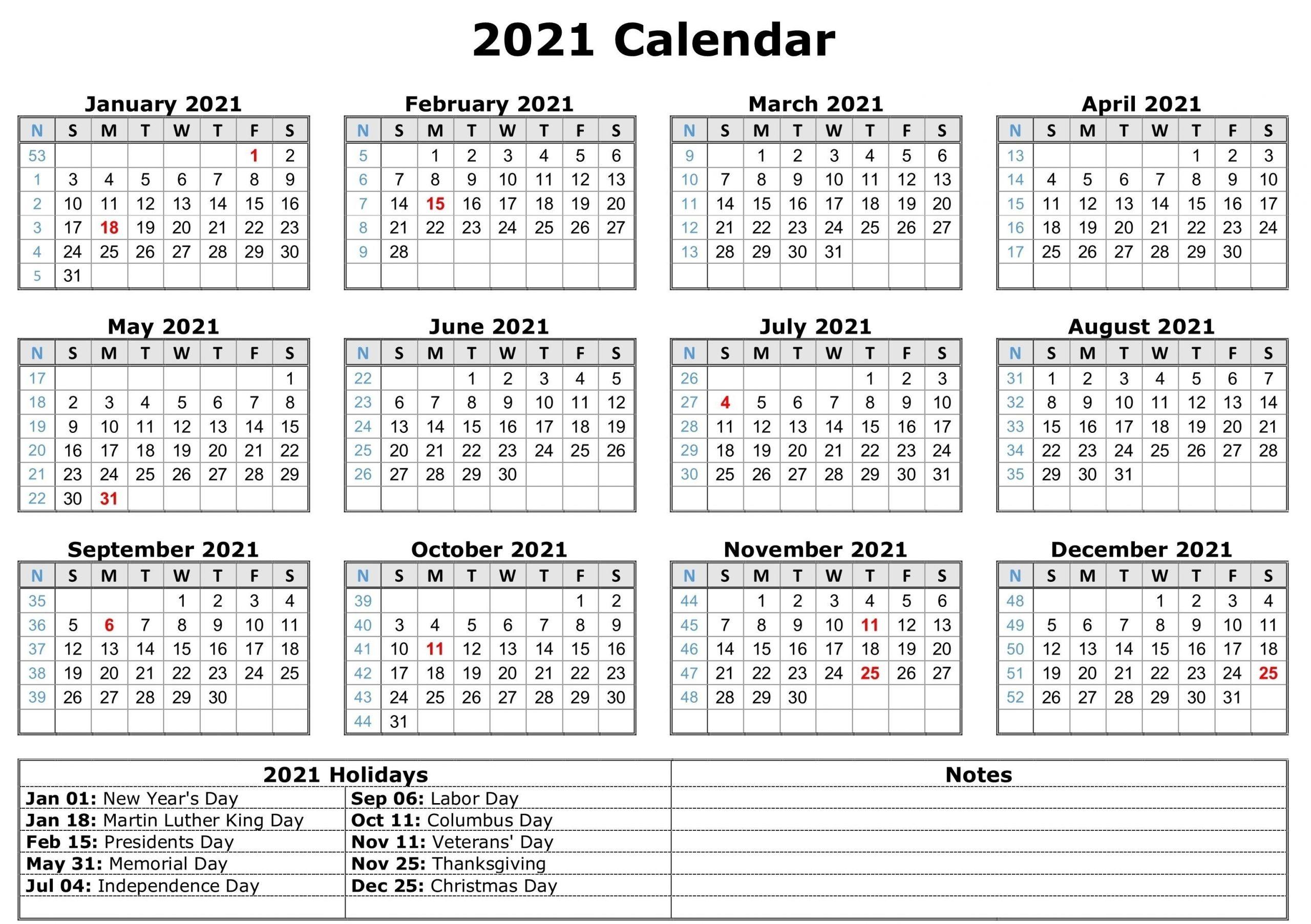 Print Pocket 2021 Calendar Free - Template Calendar Design for Free Printable 2021 Calendar Templates Word Photo