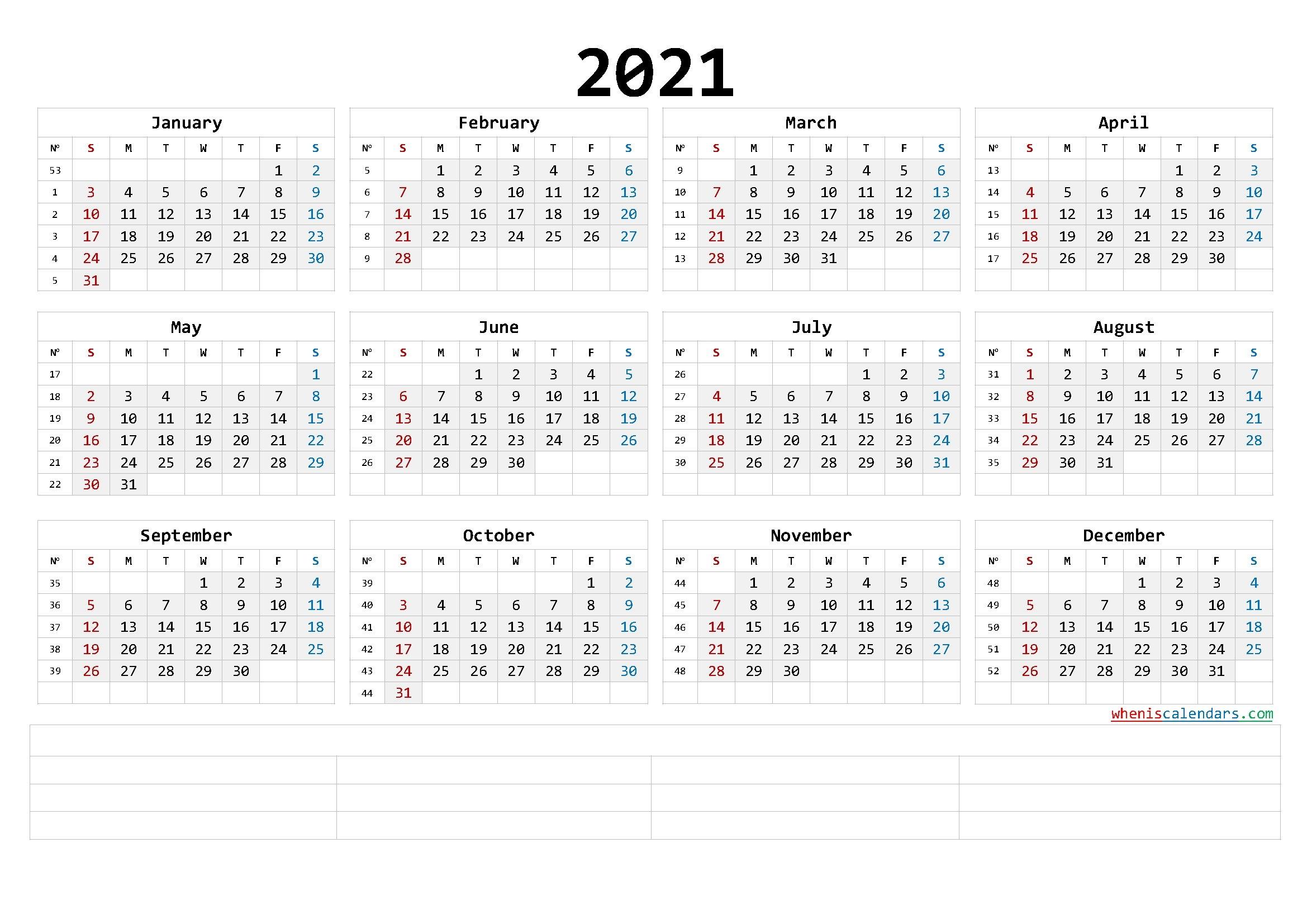 Printable 2021 Calendar Templates Calendraex Com pertaining to Free Photo 2021 Calendar To Download Graphics