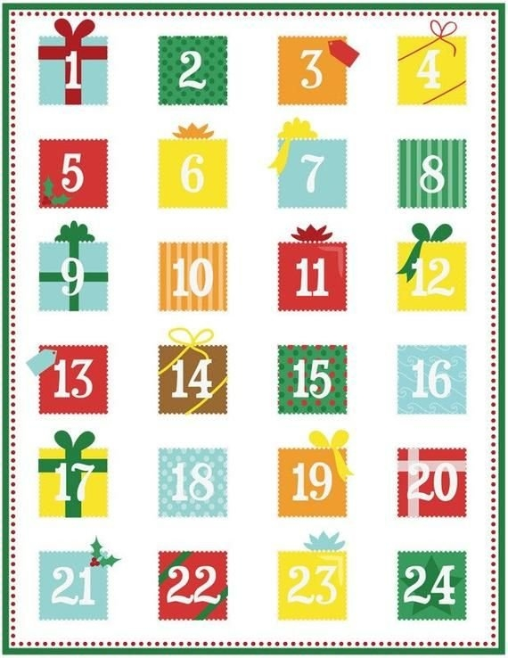 Printable Advent Calendar Pdf In 2020 | Diy Advent Calendar, Free Printable Calendar, Beer for Template For Advent Calendar