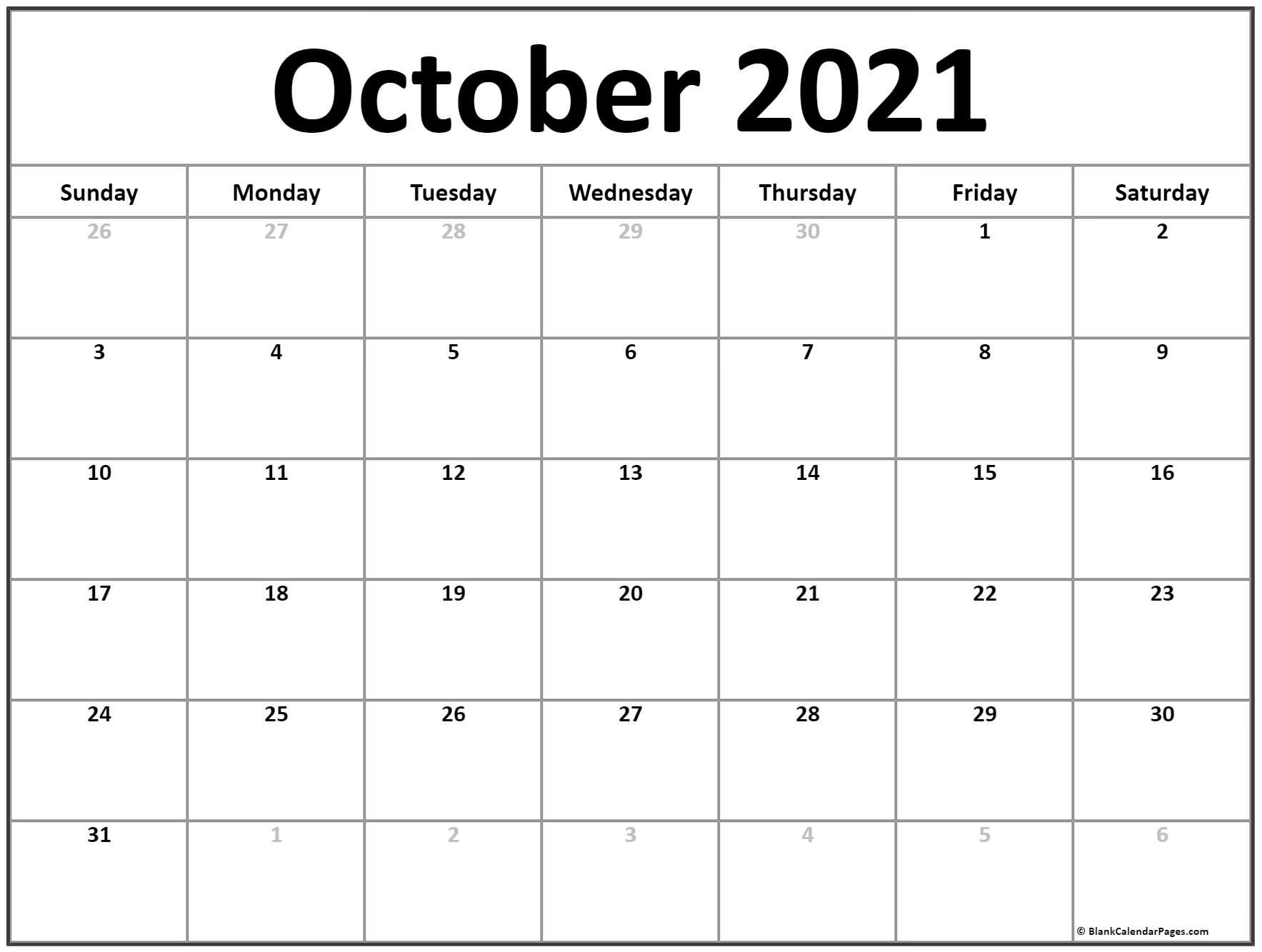 Printable Blank Monthly Calendar 2021 With Lines | Ten Free Printable Calendar 2020-2021 within Template For 2021 Monthly Calendar Graphics
