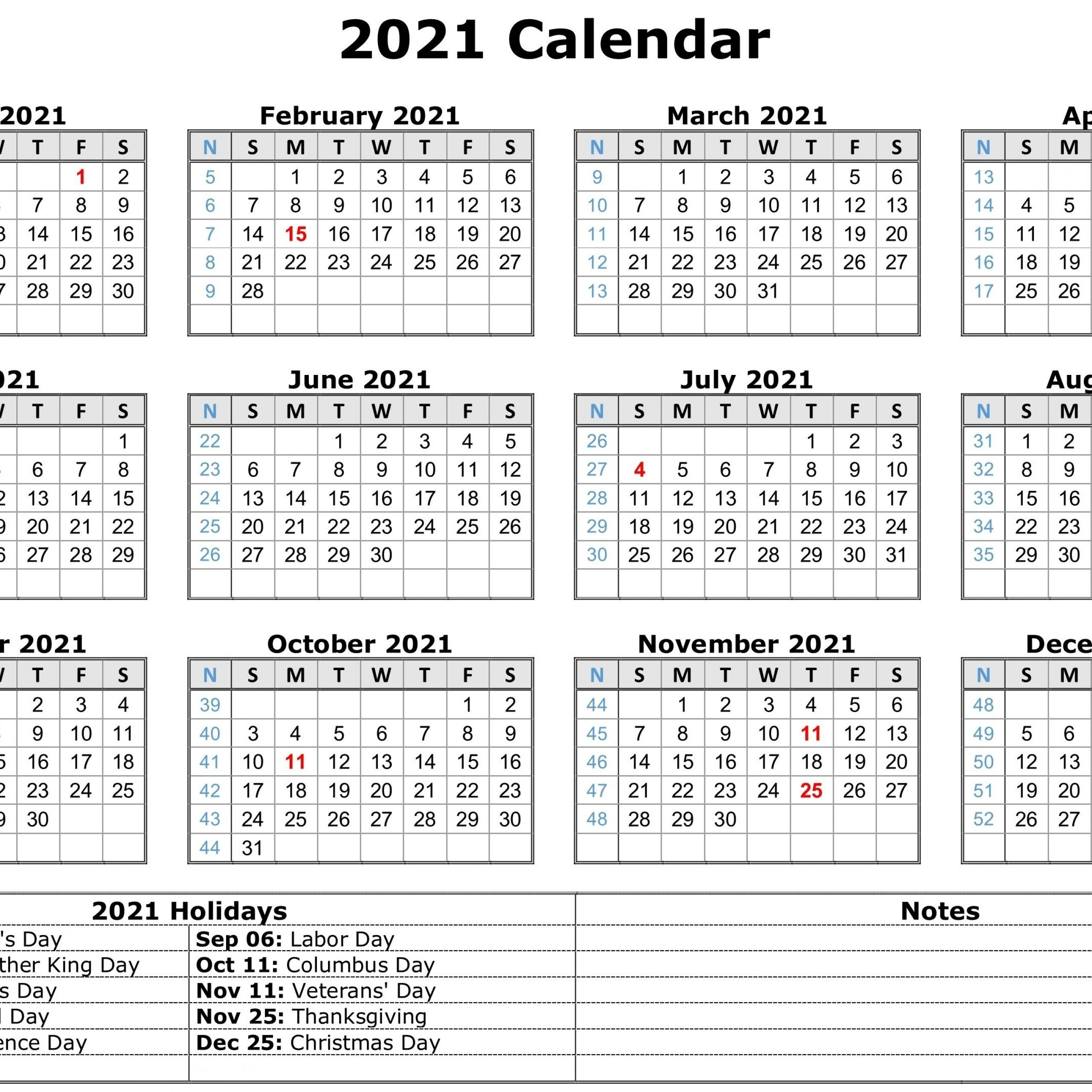 Printable Calendar 2021 With Holidays Pdf   Free Printable Calendar 2021 within 2021 Calendar Philippine Holidays Photo