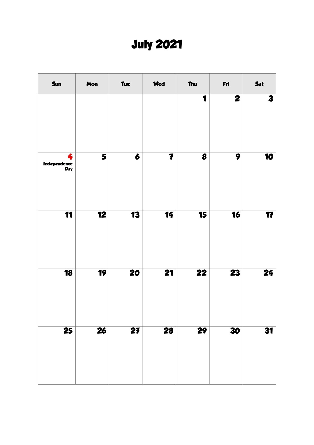 Printable Calendar July 2021, Printable 2021 Calendar With Holidays pertaining to Printable Interactive 2021 Calendar
