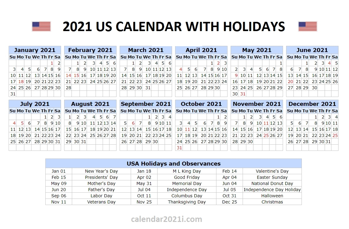 Printable List Of Holidays 2021 - Example Calendar Printable throughout Calendar 2021 Brunei For Print