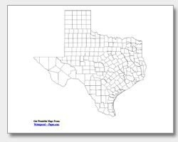 Printable State Maps - County, Outline & City Download And Print As Many As You Need throughout Waterproofpaper.com