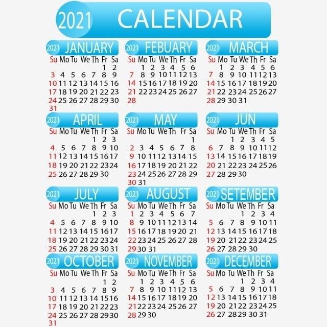 Psd Calendario 2021 Png | Calendar 2021 regarding Church Calendar 2021 Psd