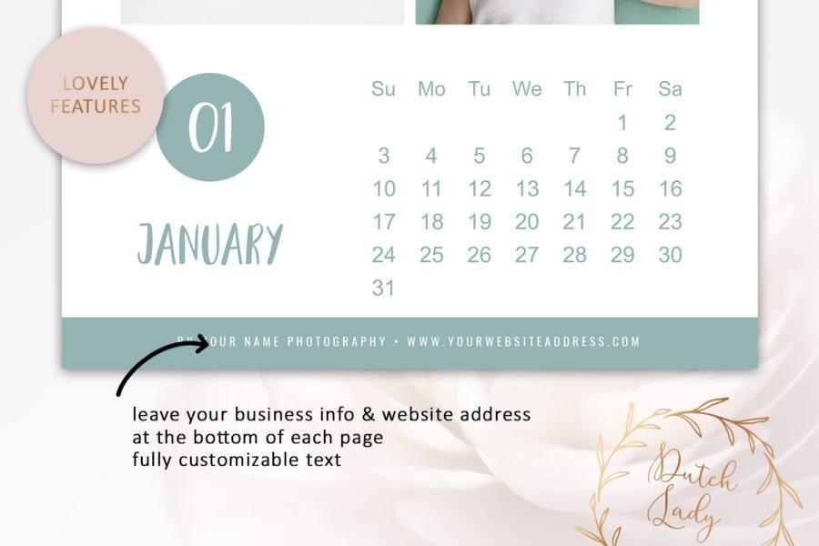 Psd Photo Photo Calendar 2021 - Adobe Photoshop Template #4 - Crella inside 2021 Myanmar Calendar Psd Free Photo