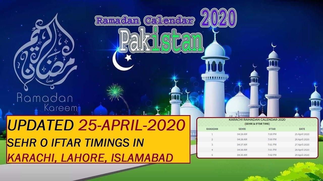 Ramadan Calendar 2021 Karachi | Calendar Page regarding Ramadan In America 2021 Free Calendar Image