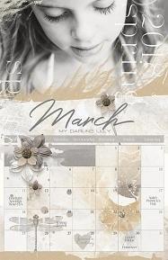 Scrapsimple Calendar Templates: 11X17 Blenders 2018Brandy Murry For Www.scrapgirls for 11X17 Activity Calendar Layot