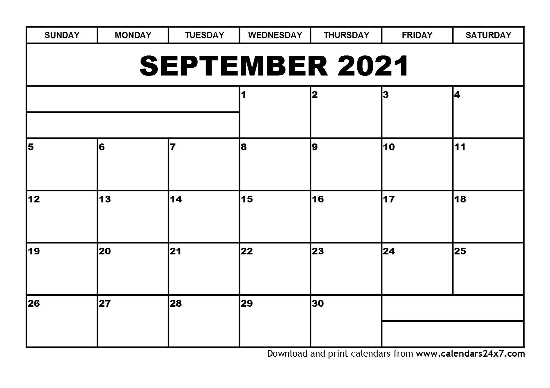 September 2021 Calendar & October 2021 Calendar inside Excel September 2021 Monthly Planner Template Graphics
