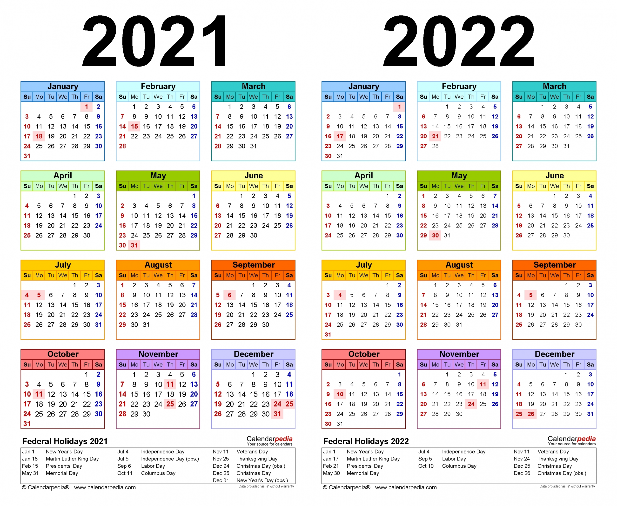 Small Yearly Calendars For 2021 And 2022 - Calendar Inspiration Design throughout 3 Year Printable Calendar 2021 2021 2022
