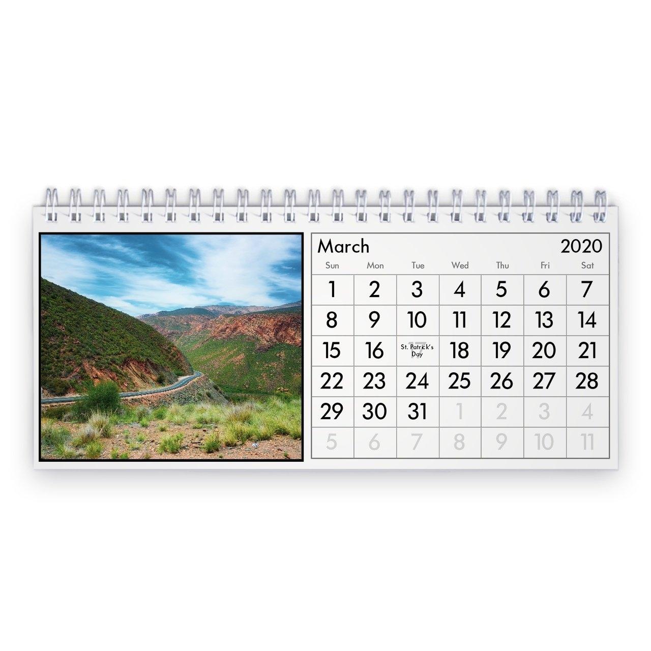 South Africa 2021 Desk Calendar with South Australia Calendar 2021 Graphics