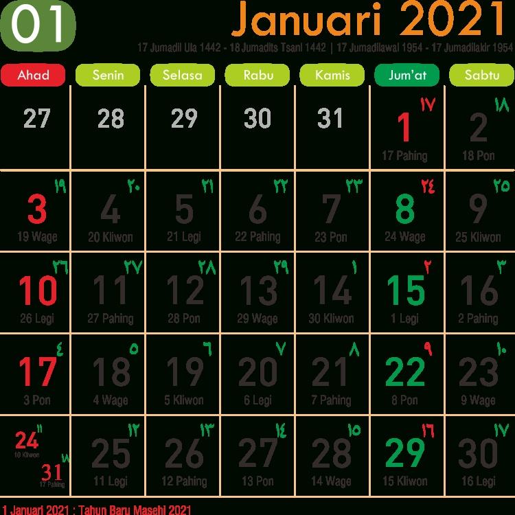 Template Kalender 2021 08 - Toko Fadhil Template with 2021 Kalender Cuti & Sekolah Image