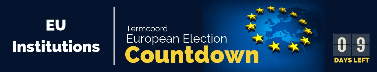 Termcoord European Election Countdown: Eu Institutions in Countdown To Election Calender