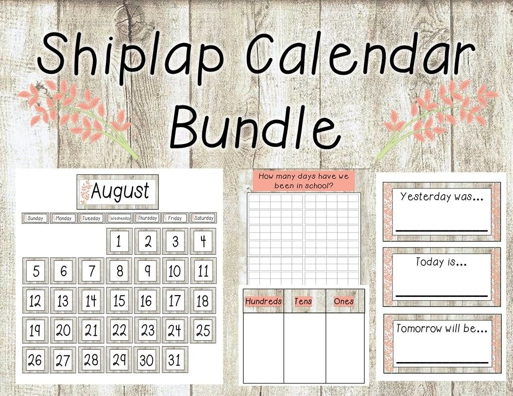 This Product Includes: -Month Cards -Number Cards (1-31) -Holidays/Special Dates Cards inside Printable Number Cards 1-31