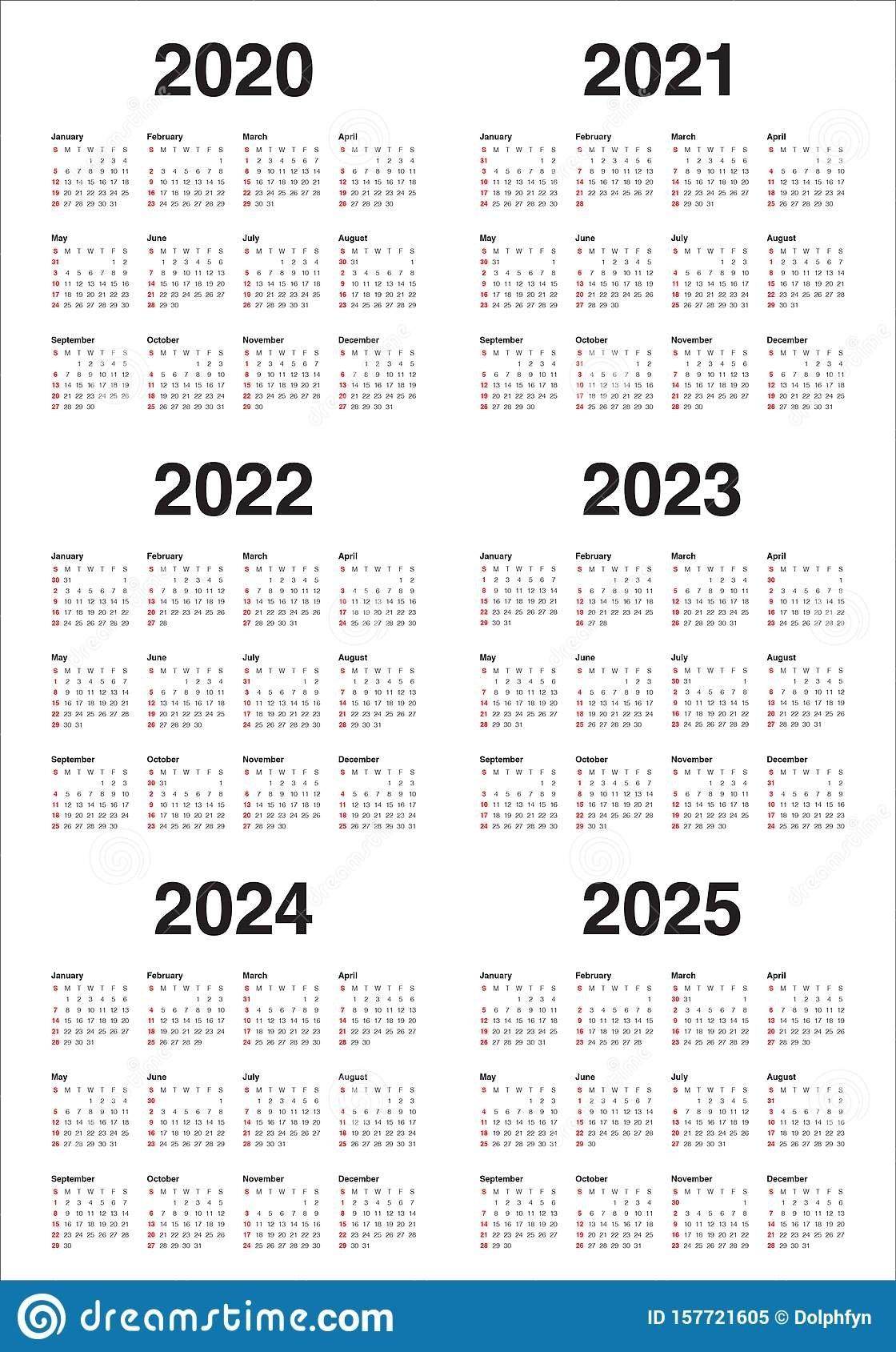 Three Year Printable Calendar 2021 To 2023 | Calendar Printables Free Blank for 3 Year Calendar 2021 2021 2022 Graphics
