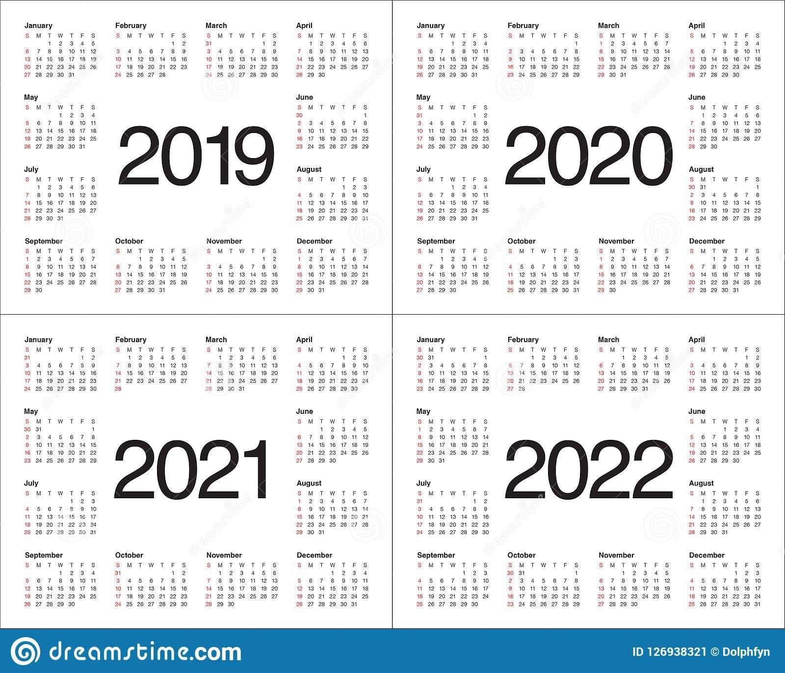 Three Year Printable Calendar 2021 To 2023 | Calendar Printables Free Blank pertaining to 2021 To 2025 Calendar Image