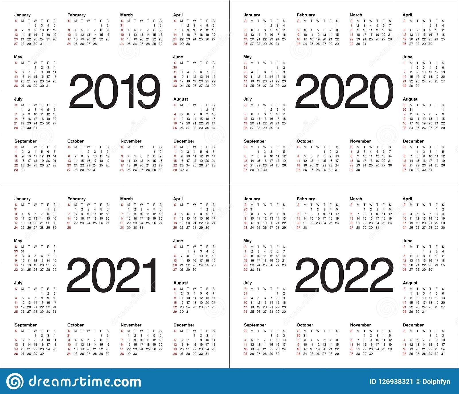 Three Year Printable Calendar 2021 To 2023 | Calendar Printables Free Blank within 3 Year Calendar 2021 2021 2022