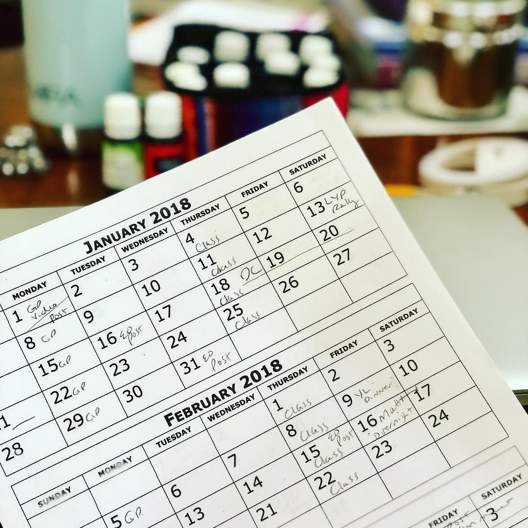 Today I Printed These 4 Pages Of A 2018 Monthly Calendar. Just Google Free Printable Calenda within Free Downloadable Pocket Calendar Photo