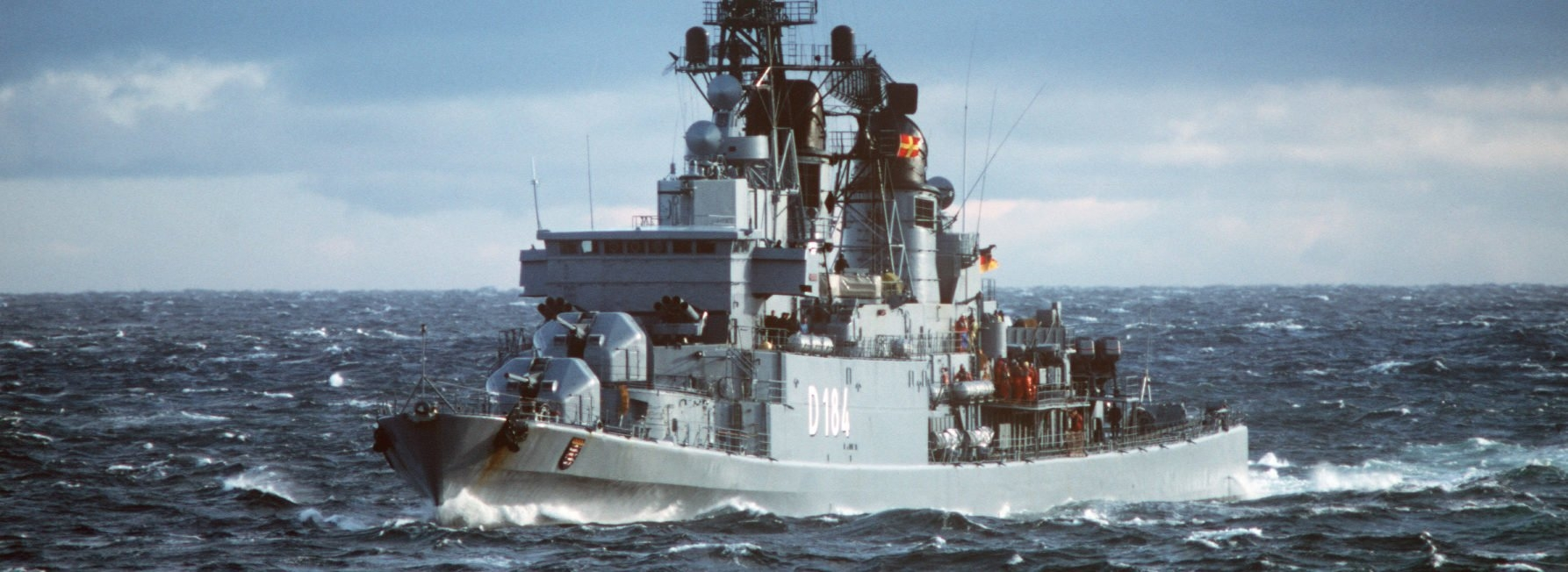 Type 101 Hamburg Class Destroyers (1960) with Hamburg Class Of 2021