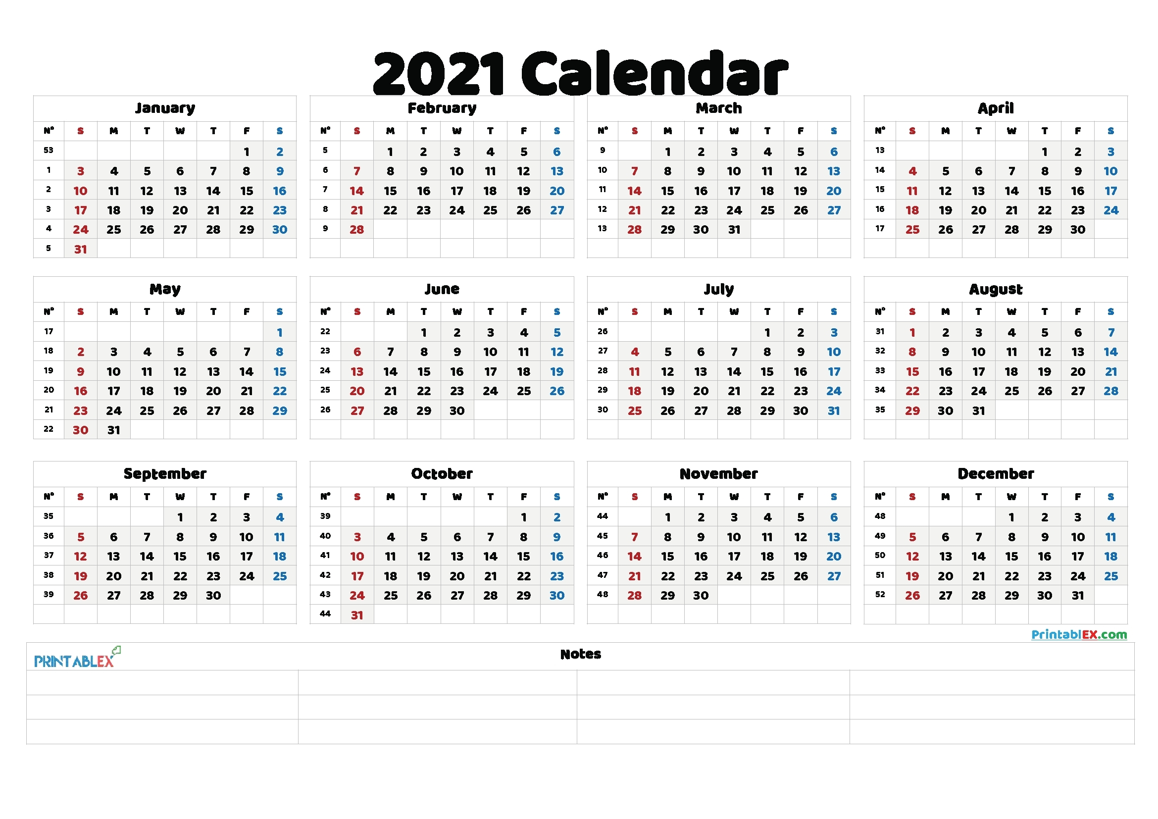 Week Number 2021 Excel - Calendar Inspiration Design pertaining to 2021 Calendar Image By Week Numbers Graphics