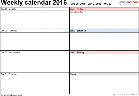 Weekly Calendar With Time Slots Week Months June And July   Printable Calendar Template 2020 with 90 Day Expiration Calendar