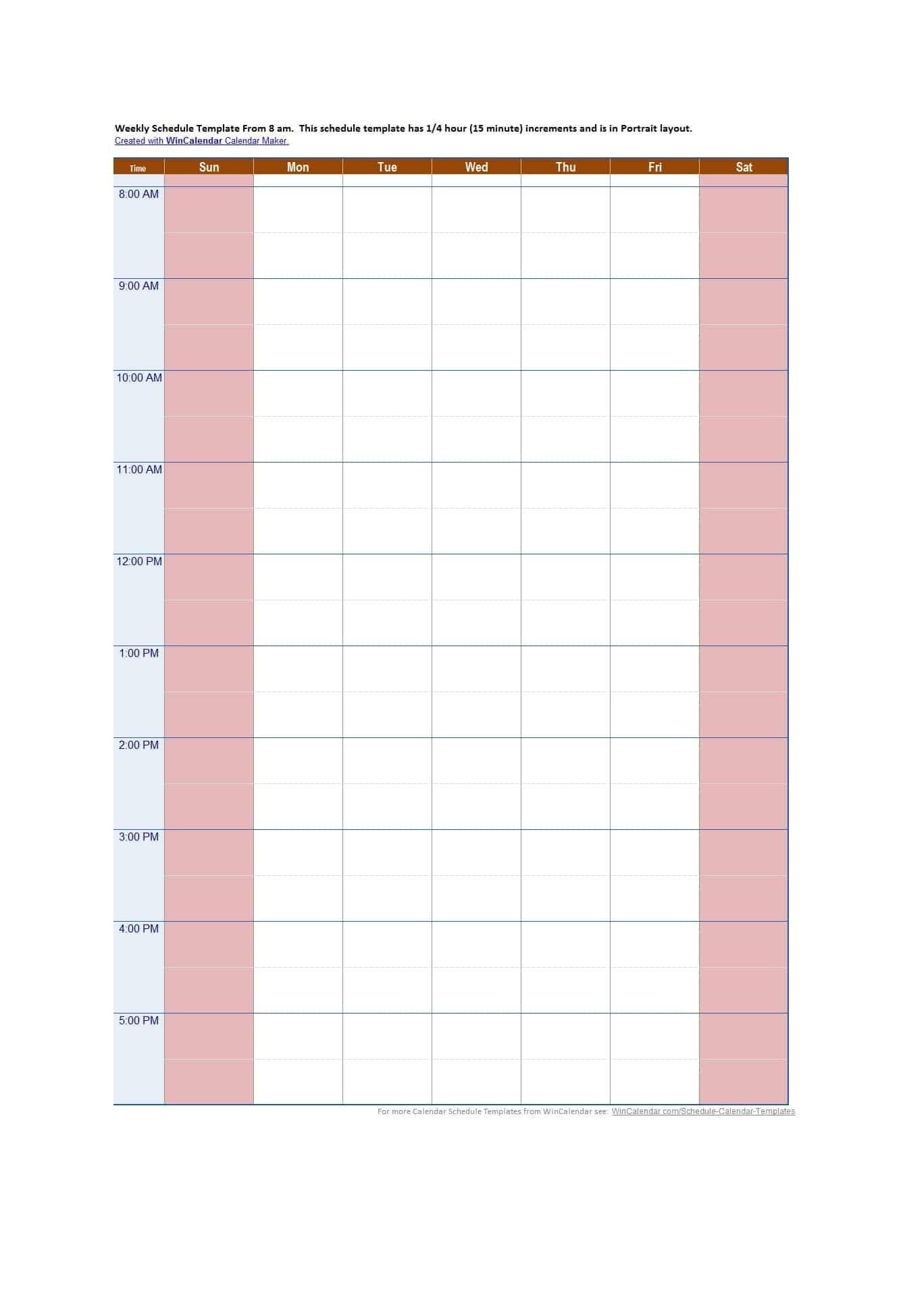 Weekly Hourly Calendar   Calendar For Planning for Quadax 2021 Julian Calendar Pdf