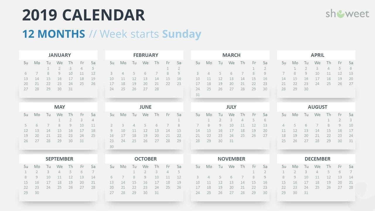 Year Calendar In Powerpoint | Ten Free Printable Calendar 2020-2021 in Yrdsb Calendar 2019 2021 Photo
