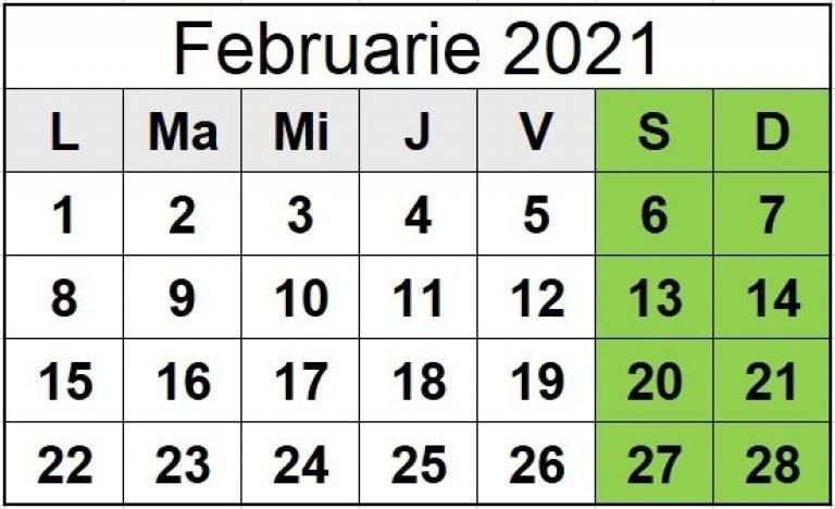 Zile Libere 2021 - Calendar Sărbători Legale În Anul Ce | Qualads for Zile Libere In 2021 Image