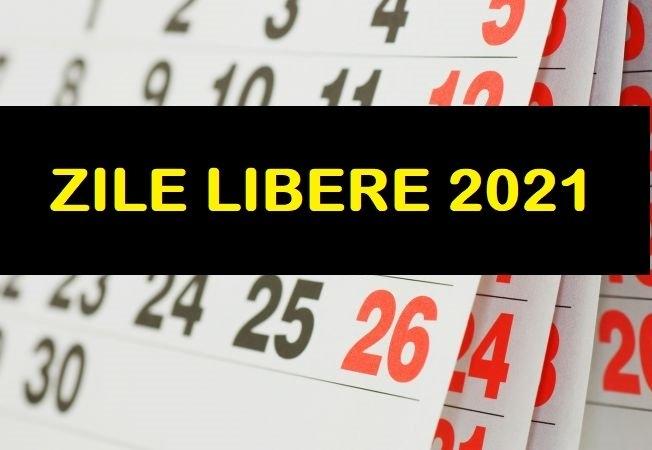 Zile Libere 2021. Care Sunt Zilele Libere De La Stat În Acest An in Zile Libere Anul 2021 Photo