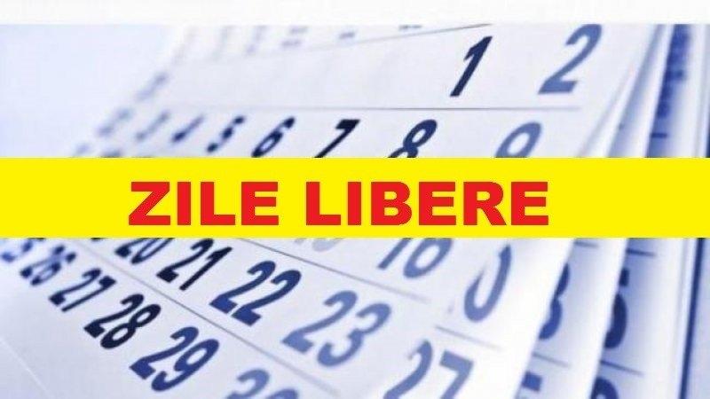 Zile Libere În 2021. Românii Vor Avea 15 Zile Nelucrătoare, Dintre Care 7 În Timpul Săptămânii within Cate Zile Lucratoare Are Fiecare Luna In 2021