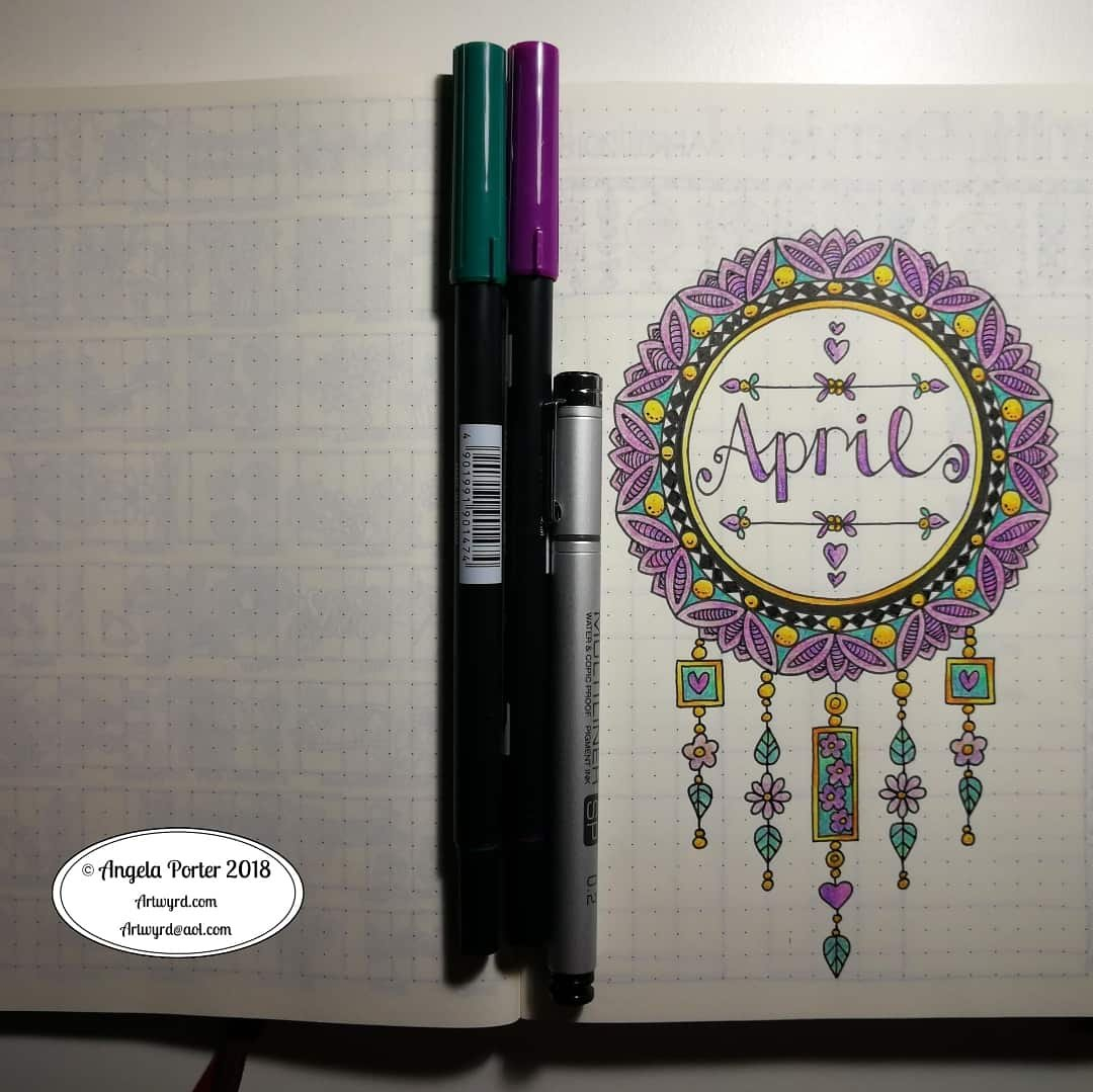 15 Creative April Bullet Journal Ideas To Inspire You throughout April Bullet Journal Theme