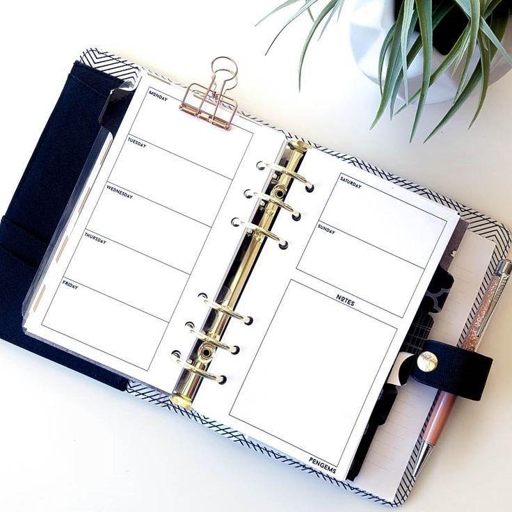 2017 Pengems Personal Printable Planner Inserts | Planner in Planner Insert Printables Book Photo