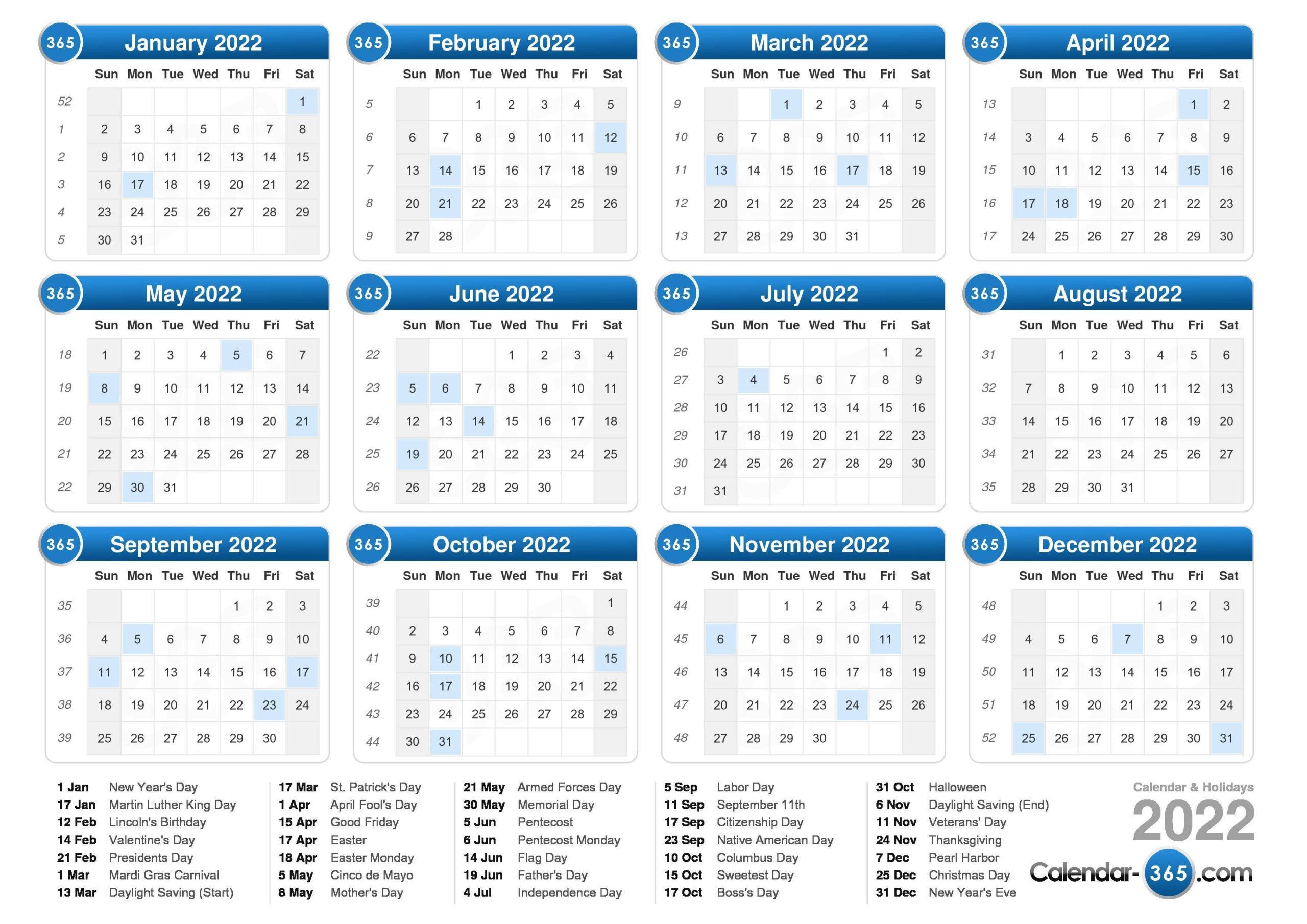 2022 Calendar throughout Print July 2022 Ckander