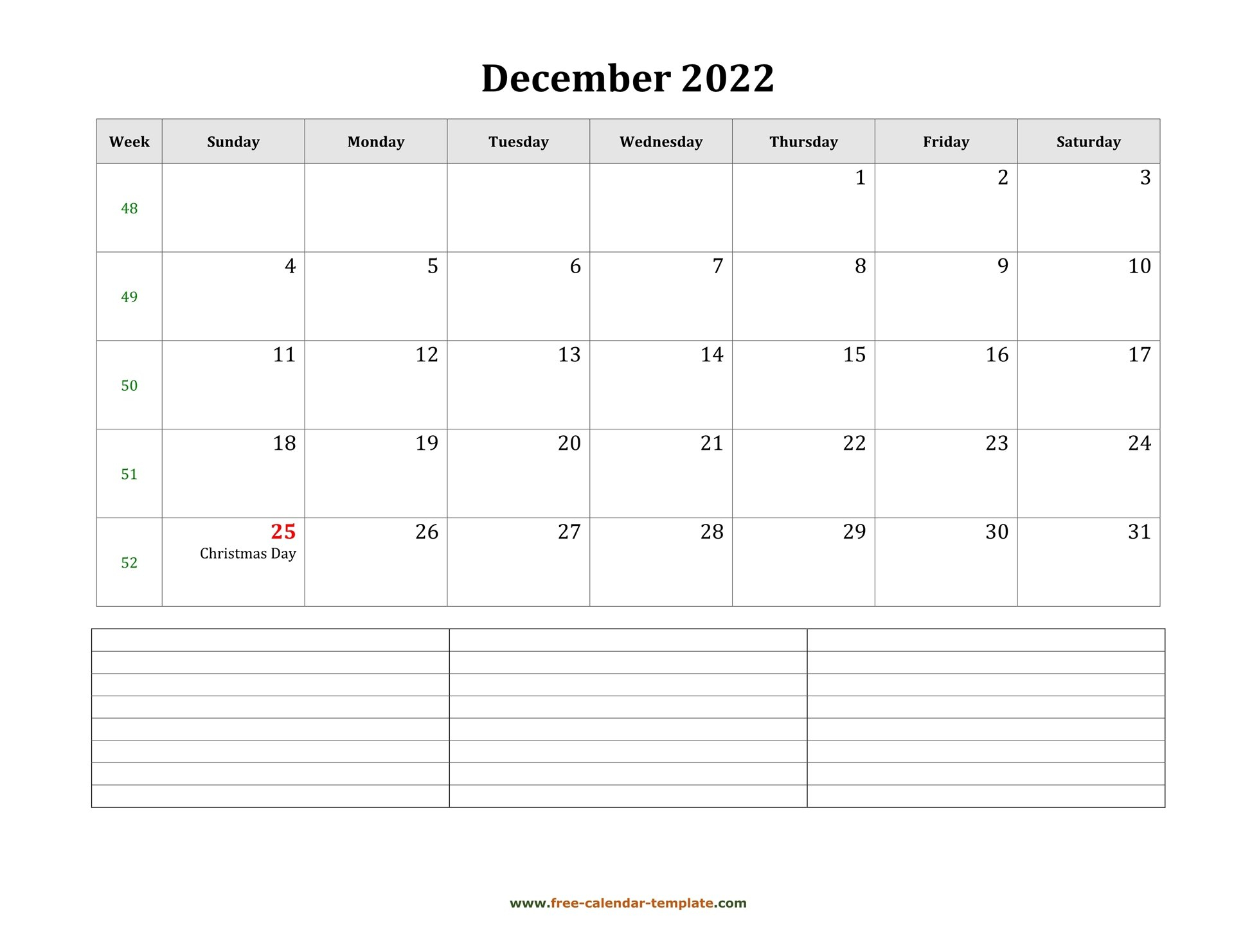 2022 Printable December Calendar With Space For pertaining to Free Witchy Planner Printable December 2022 Photo