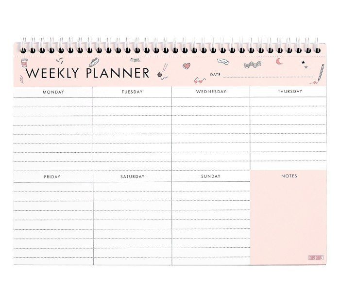 A4_Weekly_Planner-Planner-Template-Schedule-Printable-Word-Doc within Free Weekly Planner Template