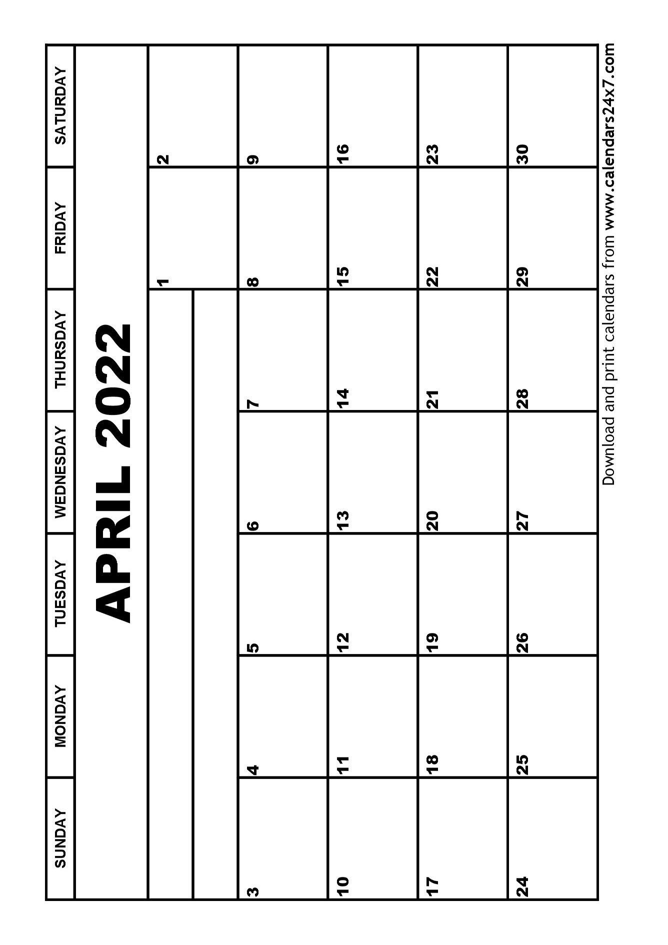 April 2022 Calendar & May 2022 Calendar within 2022 April Calendar Free Printable