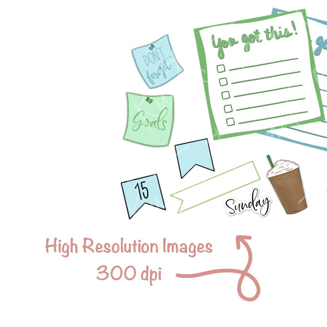 Calendar Digital Stickers For Goodnotes Planner Numbers | Etsy pertaining to Free Digital Numbers For Planners Photo