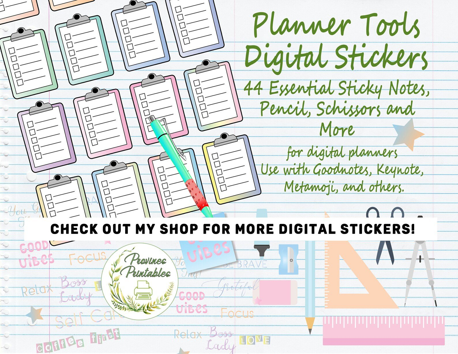 Digital Planner Stickers Numbers Days Of The Week And intended for Free Digital Numbers For Planners