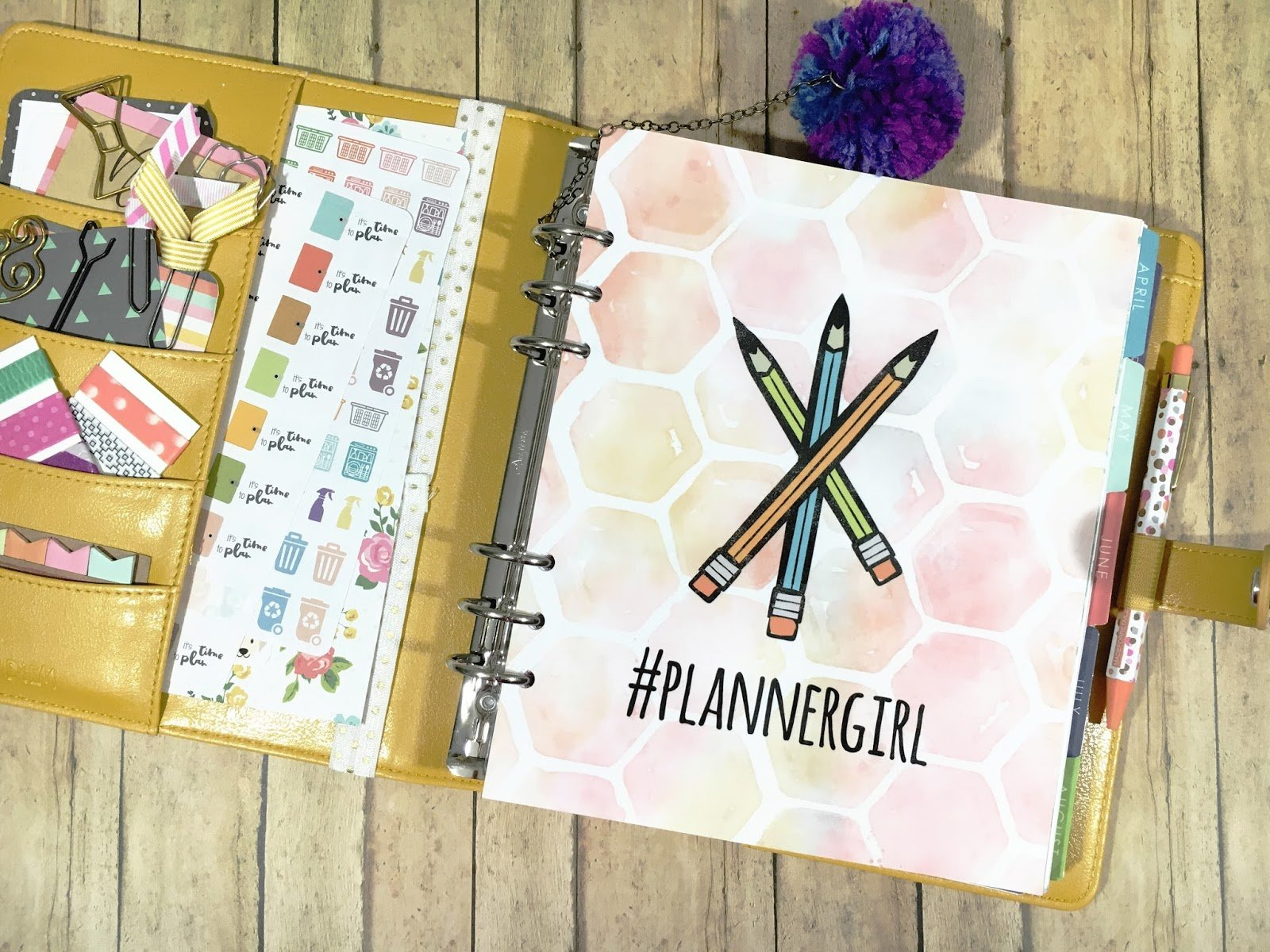 Five Sixteenths Blog: Make It Monday // Diy Planner with regard to How To Design And Print A Planner