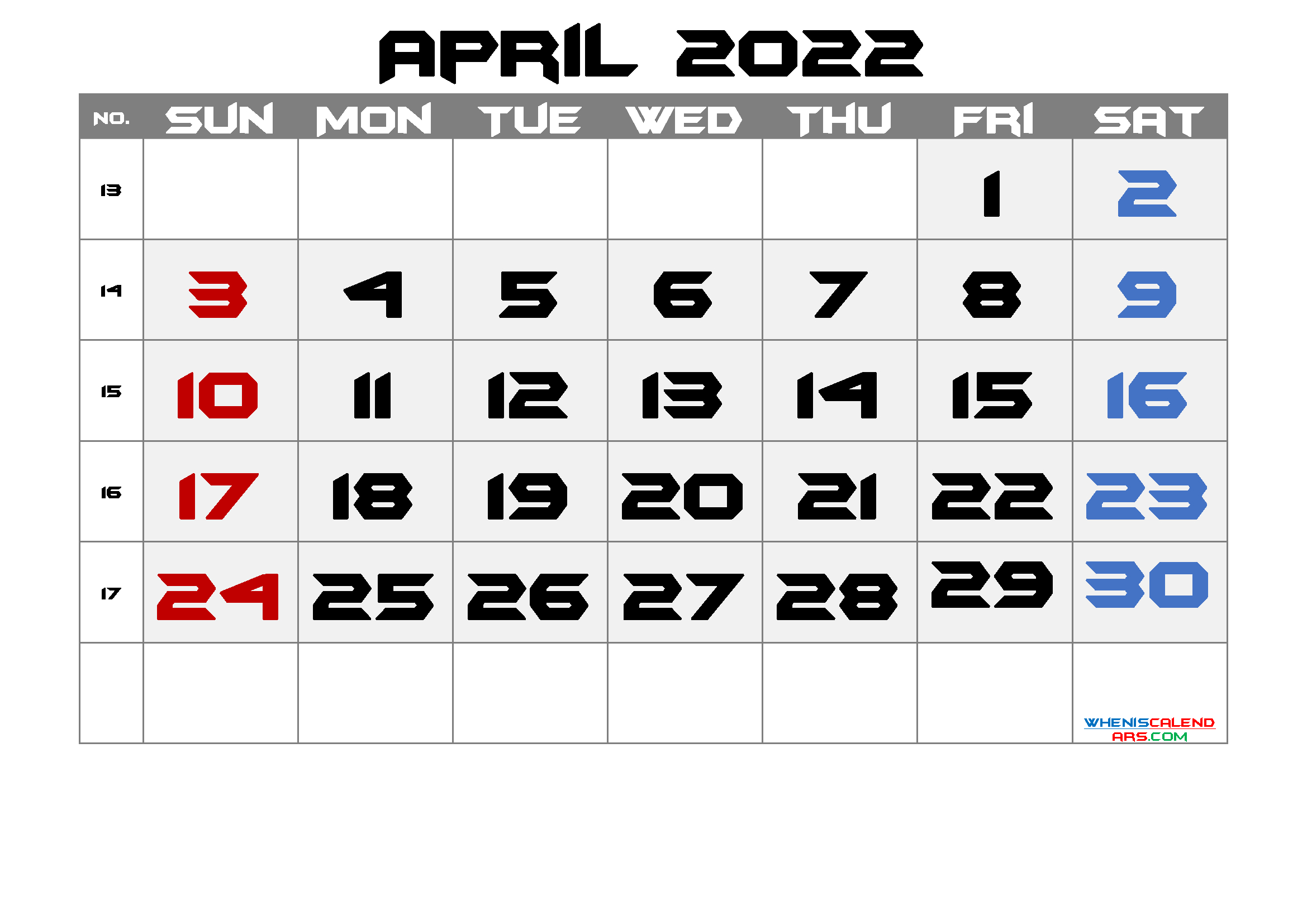 Free Printable Calendar April 2021 2022 And 2023 And More intended for Printable Monthly Calendar April 2022 Graphics