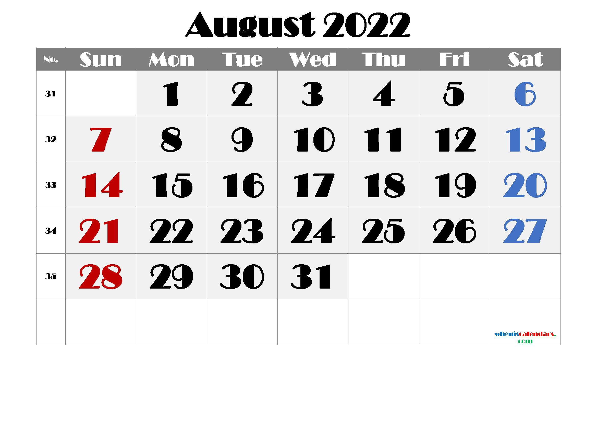 Free Printable Calendar August 2021 2022 And 2023 for Printable Monthly Calendar August 2022 Photo