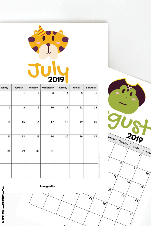 Free Printable Calendar For Kindergarten   Calendar pertaining to Free Printable Artist Planner Worksheet Image