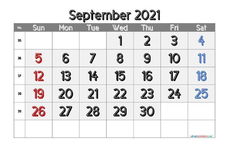 Free Printable Calendar September 2021 2022 And 2023 regarding Monthly Calendar September 2022
