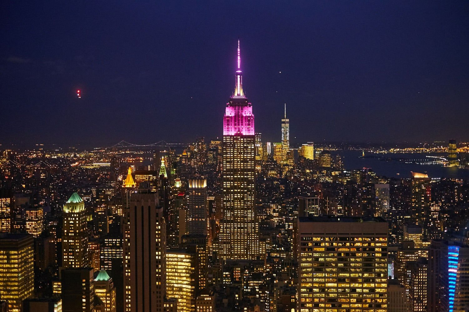 Glamour Lights Up The Empire State Building In Pink For with regard to Girls Building Empires Free Printable Planner Photo