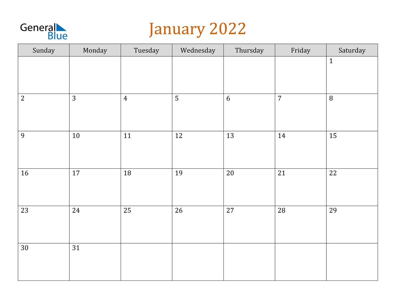 January 2022 Calendar (Pdf Word Excel) for Free Green Printable Daily Planner 2022 Pdf Image