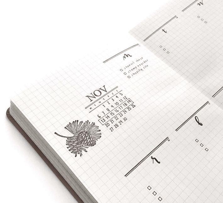 Minimal Weekly Bullet Journal Layout Ideas   Bullet inside Bullet Journal April Layouts